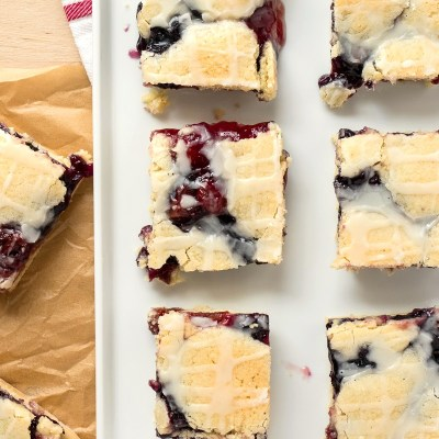 Red, White, and Blue Pie Bars
