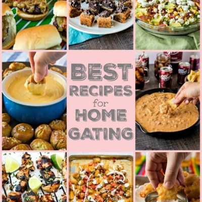 The Best Recipes for Homegating