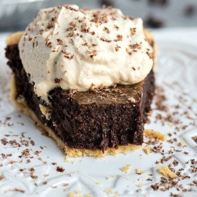 Mocha Brownie Pie
