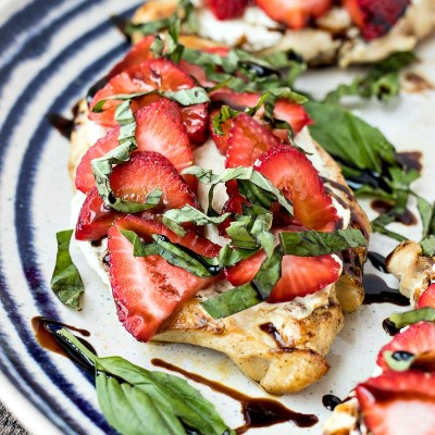 Strawberry & Goat Cheese Chicken