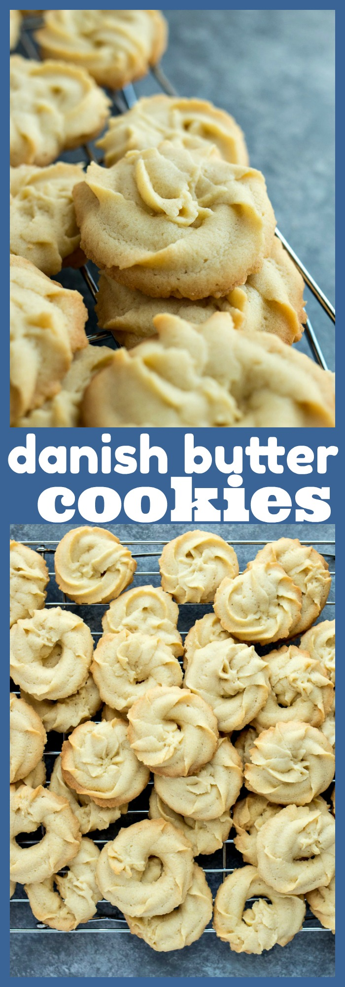 Danish Butter Cookies photo collage