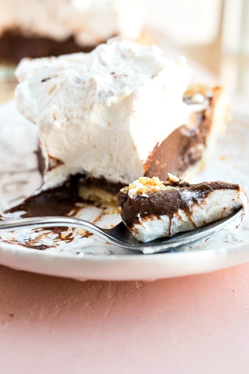 Spoonful of Chocolate Cream Pie
