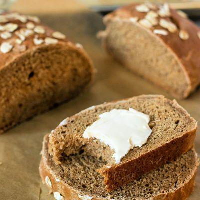 Honey Wheat Bread Loaves