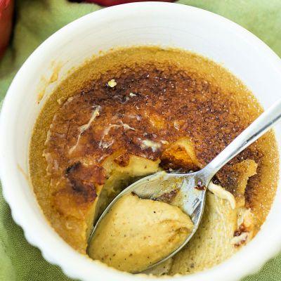 Pistachio Crème Brulee
