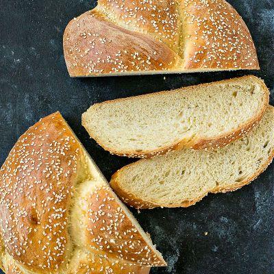 Sesame Seed Braided Loaf