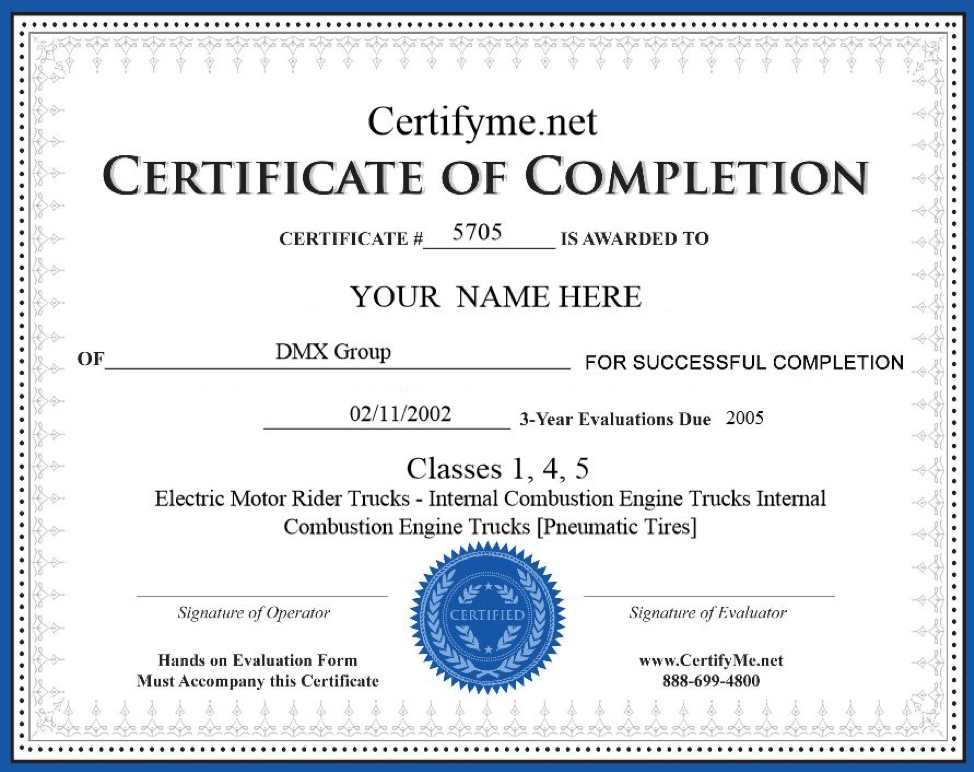 How To Get Forklift Certified It S Easy With Certifyme Net