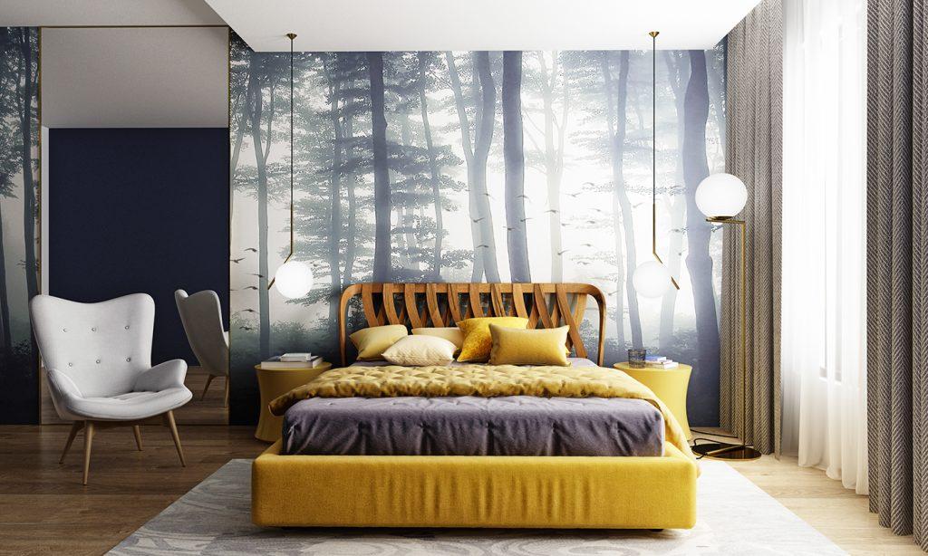 3D Bedroom Interior Design