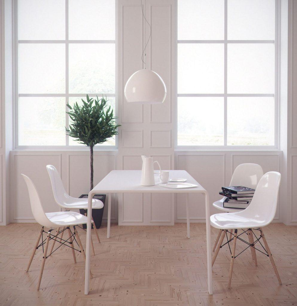 Dining Table 3D Interior Model