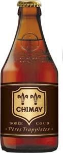 botella chimay doree