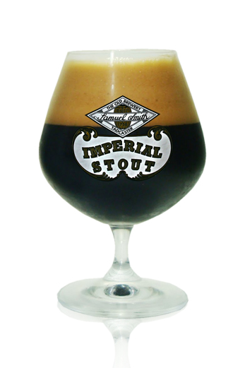 Samuel Smith Imperial Stout copa