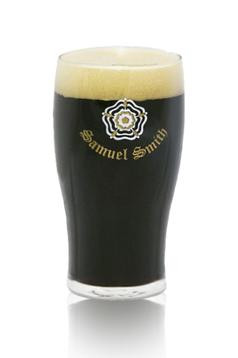Samuel Smith Oatmeal Stout vaso