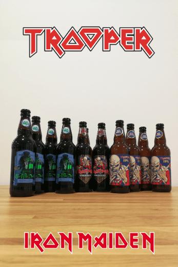 Cervezas Pack Iron Maiden Trooper