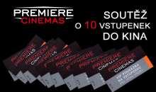 Předprázdninová soutěž o 10 VIP vstupenek do pražského, olomouckého a teplického multikina Premiere Cinemas