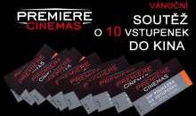 Vánoční soutěž o deset VIP vstupenek do multikina Premiere Cinemas