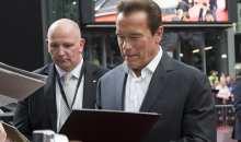 Evropská premiéra filmu Terminator Genisys proběhla pod bedlivým dohledem samotného Schwarzeneggera