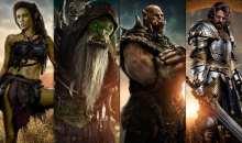 Série plakátů Warcraft: První střet představuje postavy