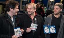 Kotek, Prachař a Taclík pokřtili DVD a Blu-ray Padesátky lahví sektu