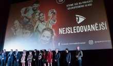 Slavnostní premiéru Nejsledovanějších si nenechali ujít Roman Zach, Veronika Žilková, Denisa Nesvačilová a mnoho dalších hostů