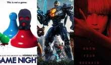 Plakáty Noční hra, Pacific Rim: Povstání a Rudá volavka