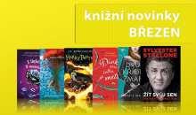 Tucet březnových knižních novinek od Albatros Media přinese lásku, dobrodružství i napětí