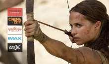 Předpremiéry akčního dobrodružství Tomb Raider v multikinech
