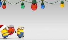 Mimoňové z Já, padouch 2 přejí šťastné a veselé vánoce