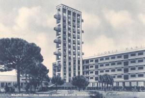 torre colonia montecatini milano marittima