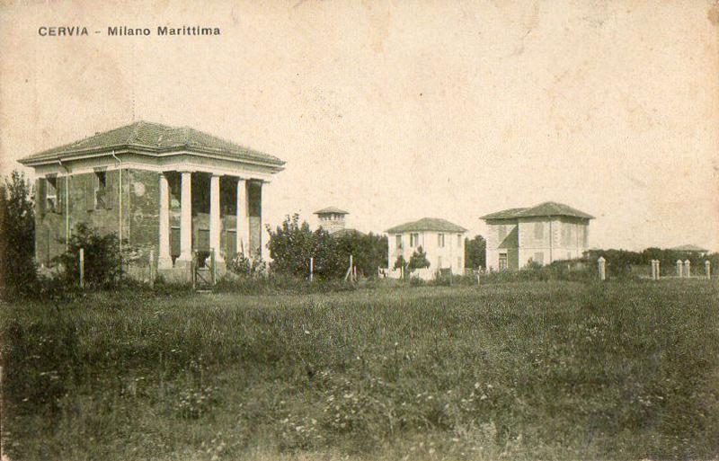 Viale Dante Milano Marittima