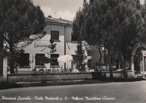 Pensione Lucciola - Viale Matteotti, Fam. Villa (oggi appartamenti)