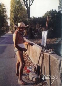 Werther Morigi in pineta