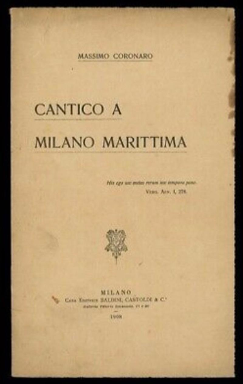 Cantico a Milano Marittima