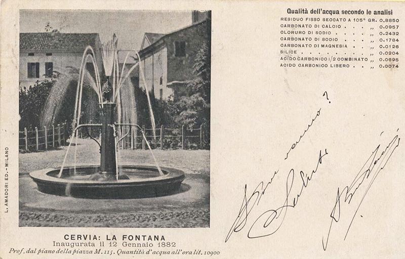 la fontana simbolo di cervia