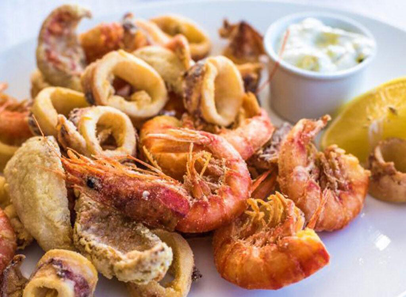 Il miglior fritto di pesce a Cervia è all'Osteria del Gran Fritto