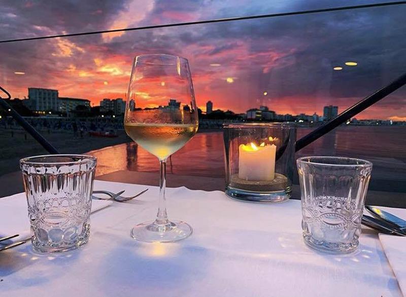 La cena romantica a Cervia è al Kalumet Molo Nord