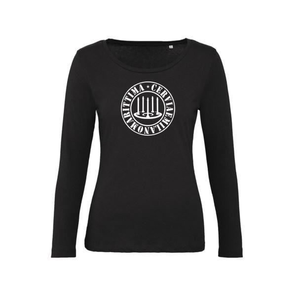 T-Shirt Maniche Lunghe Donna - CeMM