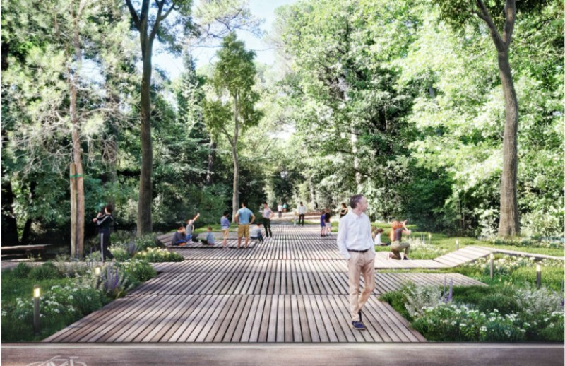 il parco urbano di milano marittima