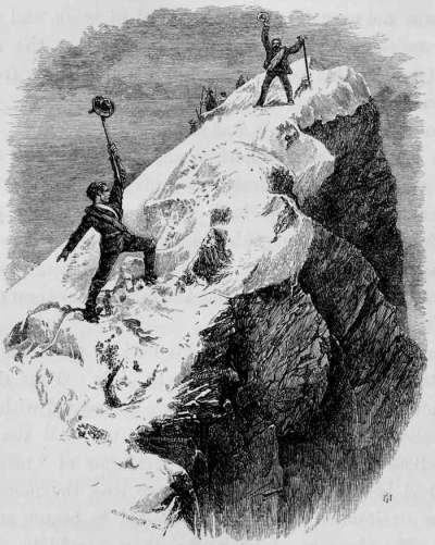 Whymper in vetta al Cervino