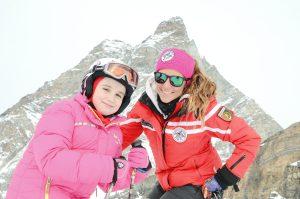 Skiing in Cervinia