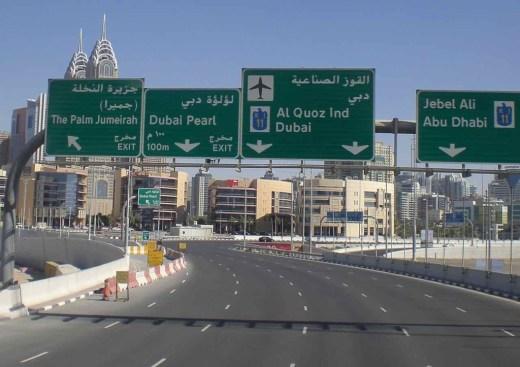 Autopista Dubai