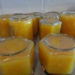 Mermelada de naranja amarga baja en azúcar
