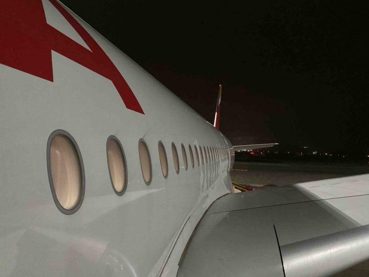 Lateral del Iberia A350