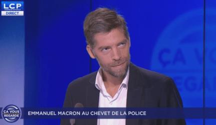 Ça vous regarde : Emmanuel Macron au chevet de la police