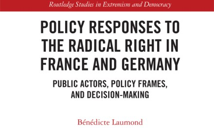 Policy responses to the radical right in France and Germany: Public actors, policy frames, and decision-making