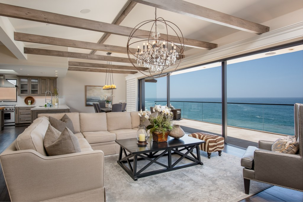 Living room Laguna Beach