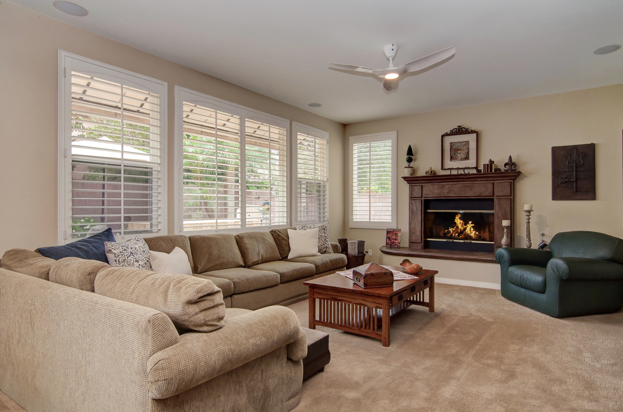 Family Room Ladera Ranch