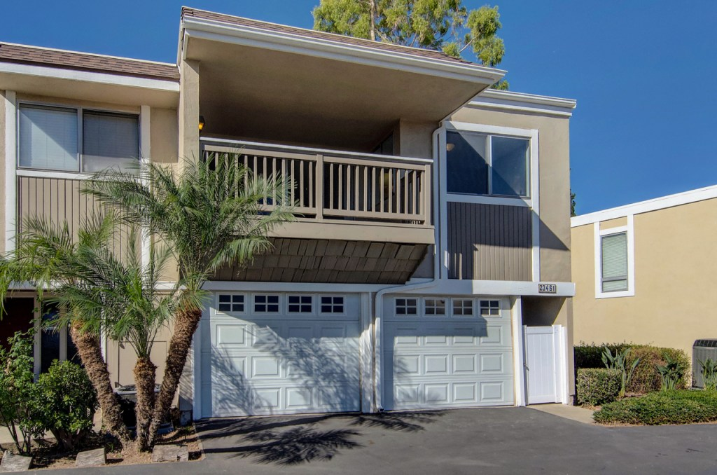 Front of Home Laguna Hills