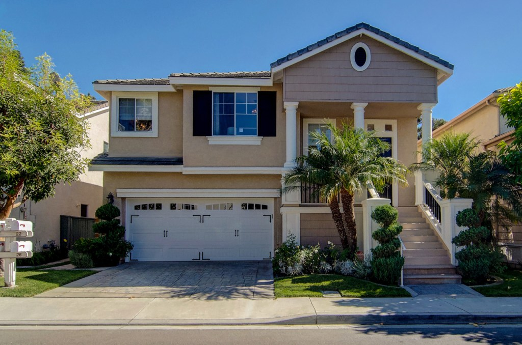 Front of Home Aliso Viejo