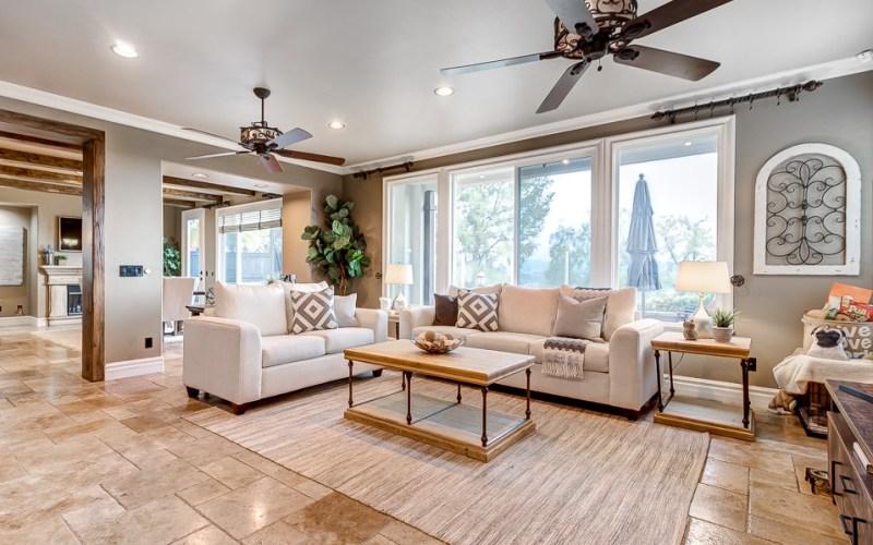 Living room Aliso Viejo