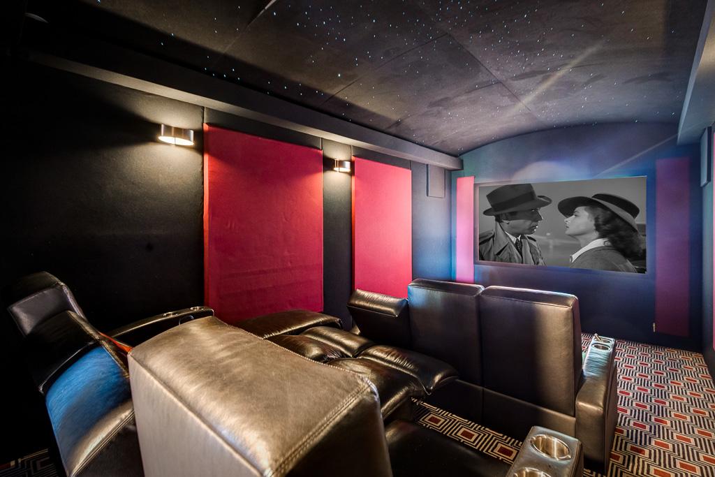 Theater Room Aliso Viejo