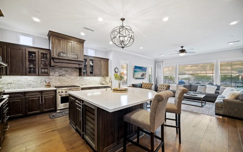 Kitchen Living Area Rancho Mission Viejo